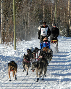 Lance Mackey - 2009 Iditarod - Anchorage - Alaska