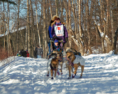 #17 - 2009 Iditarod - Anchorage - Alaska