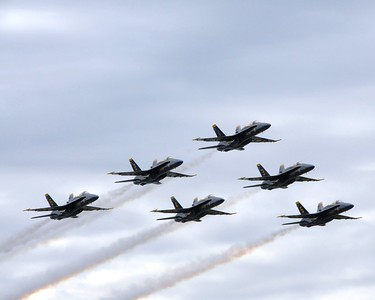 Arctic Thunder 2010 - Air Show - Blue Angels - Elmendorf Air Force Base - Anchorage - Alaska - USA