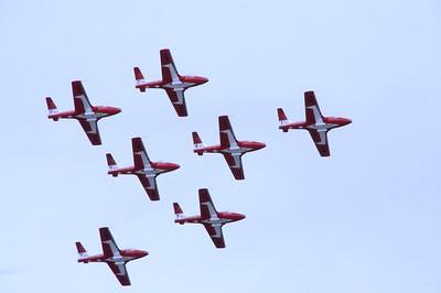 Arctic Thunder 2010 - Air Show - Canadian Snowbirds - Elmendorf Air Force Base - Anchorage - Alaska - USA