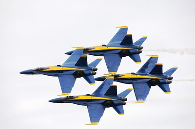 Arctic Thunder 2010 - Air Show - Blue Angels - Elmendorf Air Force Base - Anchorage - Alaska - USA