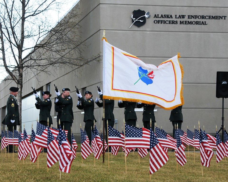 Police Memorial Day - May 7, 2010 - Anchorage - Alaska