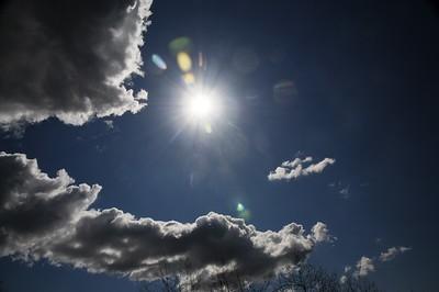 Blue Skies - Anchorage - Alaska