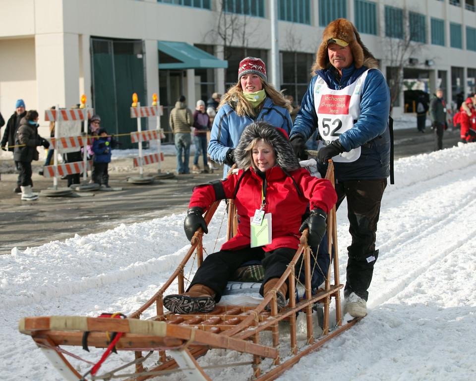 Team 52 - 2011 Iditarod Ceremonial Start - Anchorage - Alaska - USA