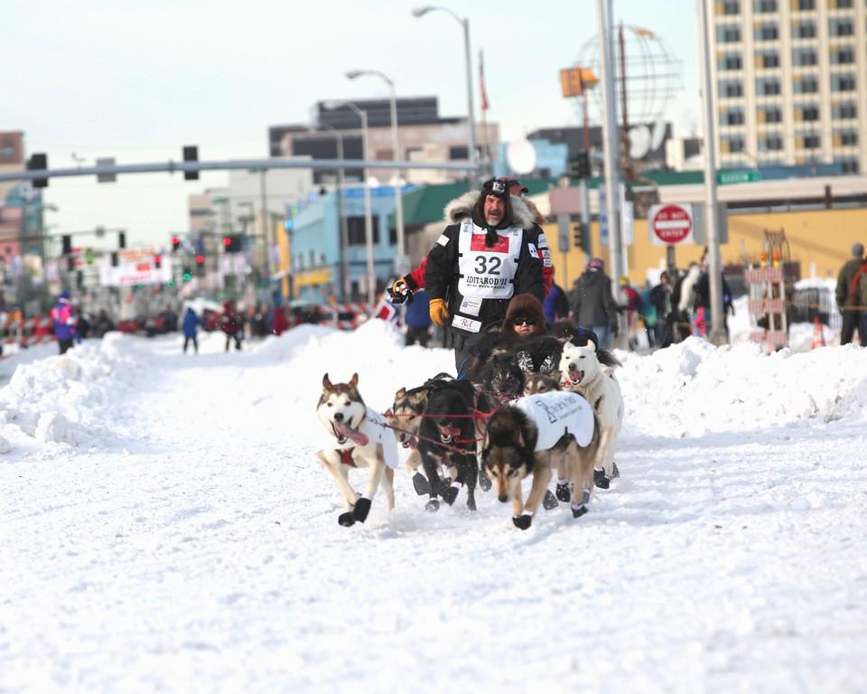 2011 Iditarod Ceremonial Start - Anchorage - Alaska - USA