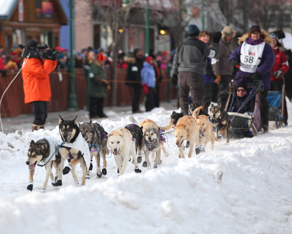 Team 58 - 2011 Iditarod Ceremonial Start - Anchorage - Alaska - USA