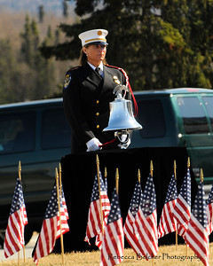 Police Memorial Day Ceremony - Anchorage - Alaska - USA