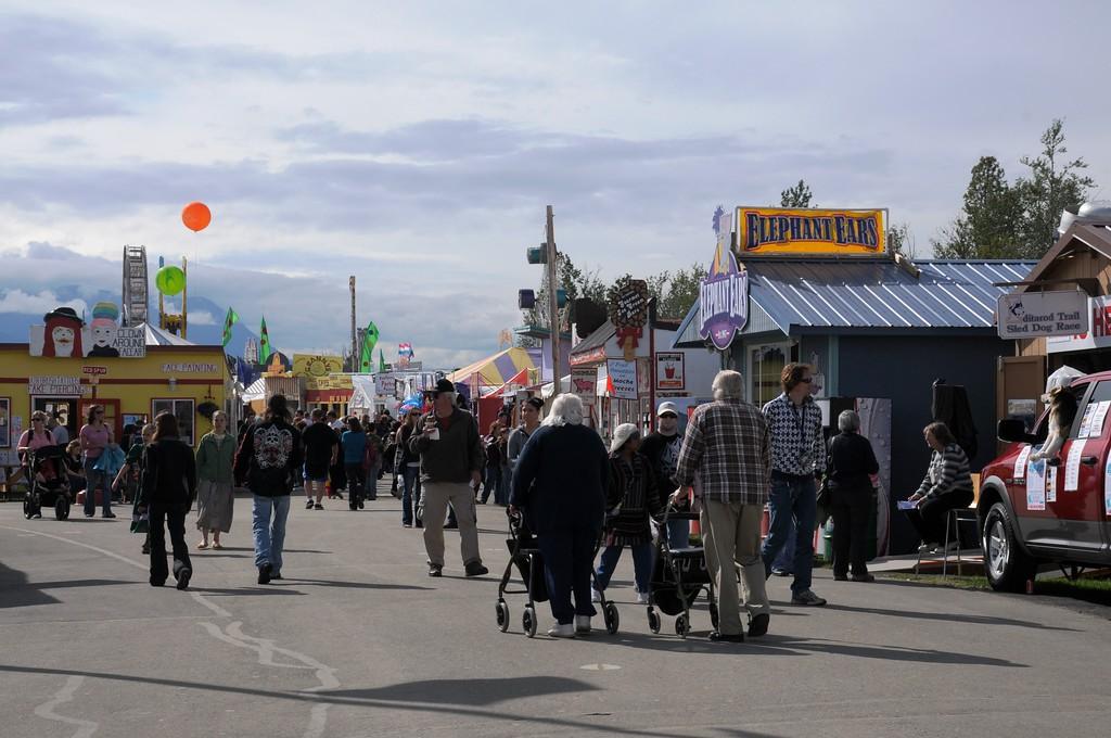2010 Alaska State Fair - Palmer Fairgrounds - Palmer - Alaska - USA