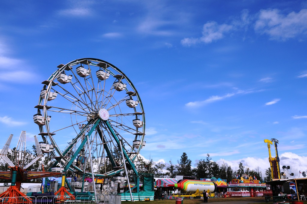 2010 Alaska State Fair - Rides - Palmer Fairgrounds - Palmer - Alaska - USA
