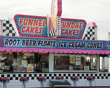 2010 Alaska State Fair - Food Vendors - Palmer Fairgrounds - Palmer - Alaska - USA