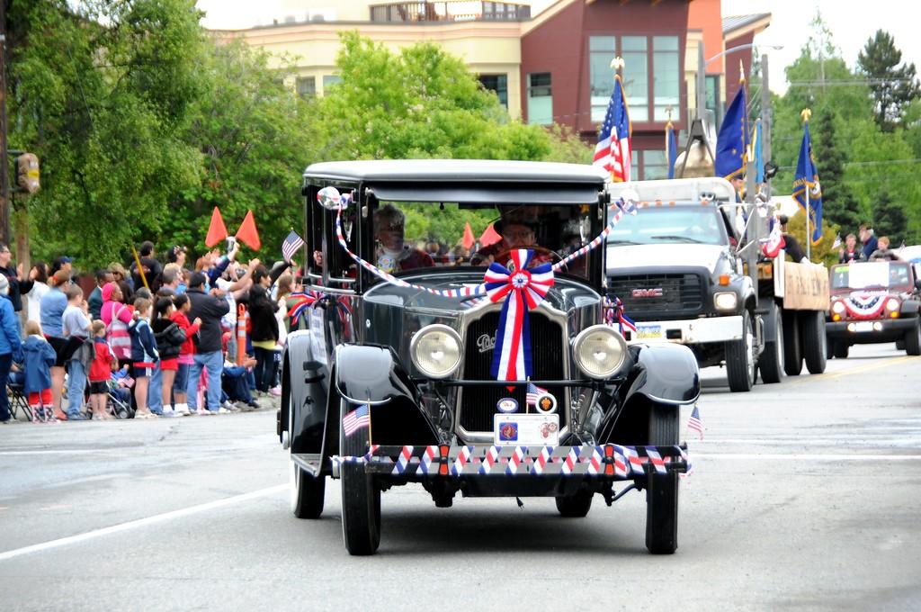 Fourth of July Parade - Packard - Anchorage - Alaska - USA