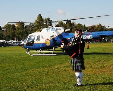 US Honor Flag Procession September 3, 2010 - Fallen Officers - Hoonah Police Department - Anchorage - Alaska - USA