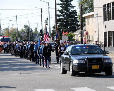 US Honor Flag Procession September 3, 2010 - Fallen Officers - Hoonah Police Department - Anchorage - Alaska - USA