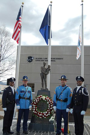 Police Memorial Day - Anchorage - Alaska