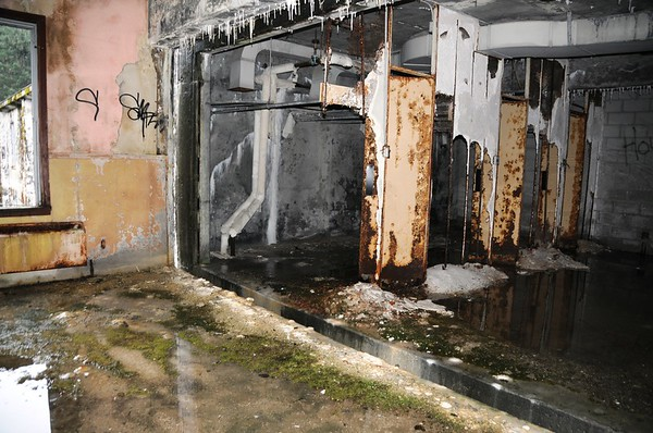 Buckner Building - Laundry Room - Abandoned - Whittier - Alaska - USA