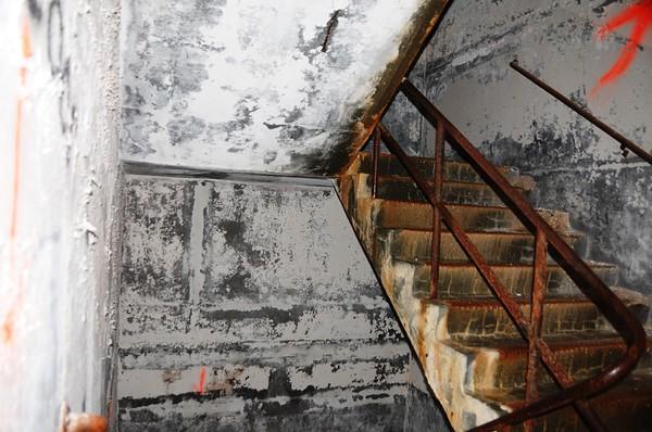 Buckner Building - Stairwell - Abandoned - Whittier - Alaska - USA