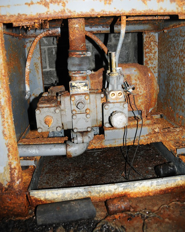 Buckner Building - Machinery - Abandoned - Whittier - Alaska - USA
