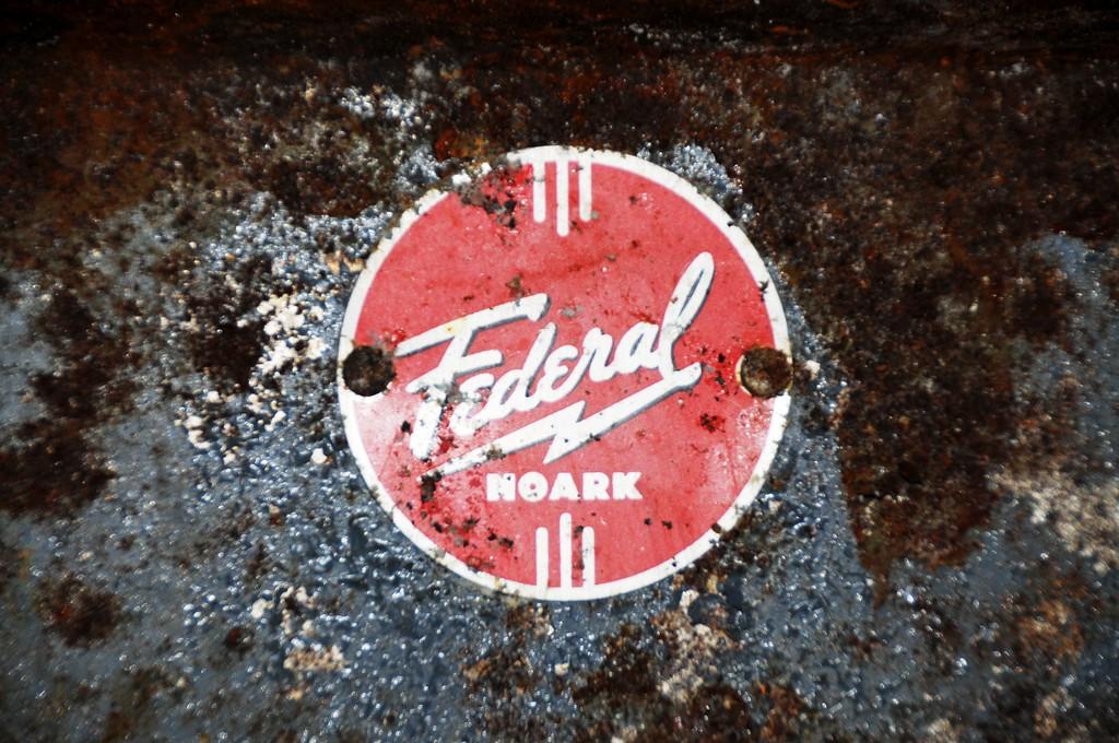 Buckner Building - Label - Abandoned - Whittier - Alaska - USA