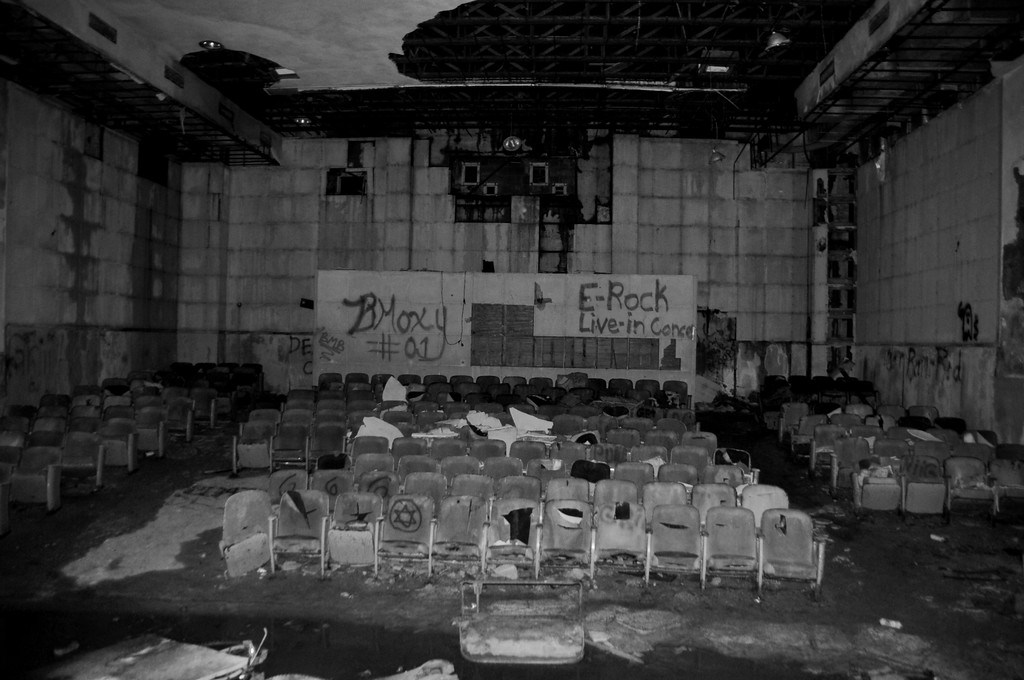 Buckner Building - Theater - Abandoned - Whittier - Alaska - USA