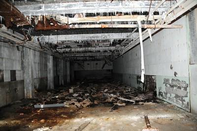 Buckner Building - Bowling Alley - Abandoned - Whittier - Alaska - USA