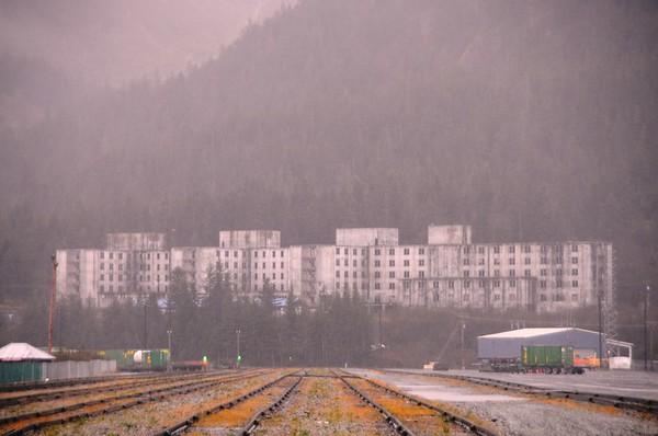Buckner Building - Exterior - Abandoned - Whittier - Alaska - USA