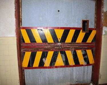Buckner Building - Elevator Doors - Abandoned - Whittier - Alaska - USA
