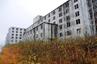 Buckner Building - Abandoned - Whittier - Alaska - USA