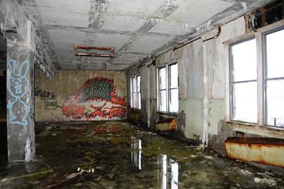 Buckner Building - Artwork - Abandoned - Whittier - Alaska - USA