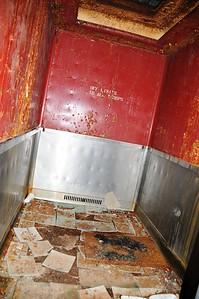 Buckner Building - Elevator - Abandoned - Whittier - Alaska - USA