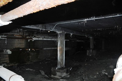 Buckner Building - Crawl Space - Abandoned - Whittier - Alaska - USA