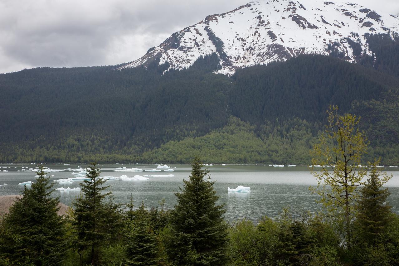 Juneau Alaska Mendenhall Glacier