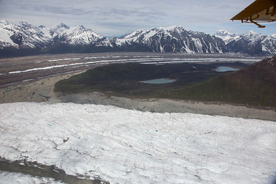 Kennicott and Root Glacier