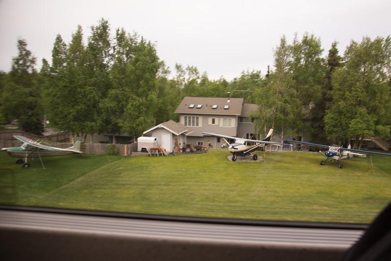 Anchorage backyard airport