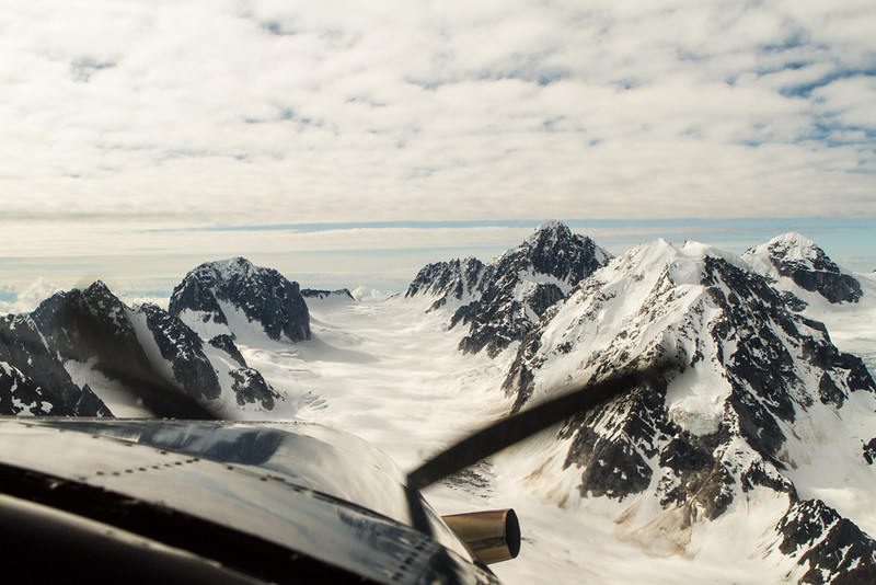 Pika Glacier landing strip