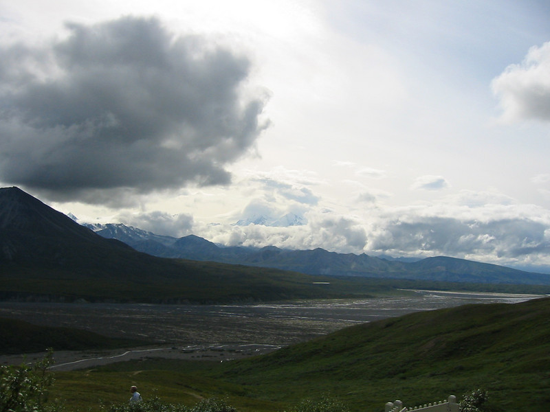 Denali, aka Mt. McKinley, from the Eielson Visitor Center.