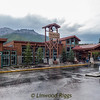 This is Holland America's McKinley Chalet Resort hotel where we stayed for three nights.  It's on the Parks Highway, just outside Denali National Park.