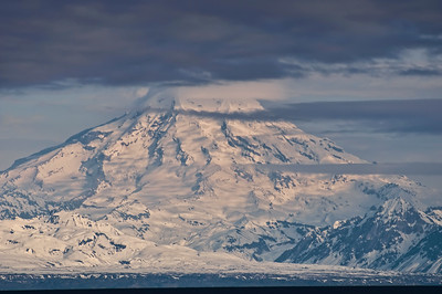 Volcano near Homer.