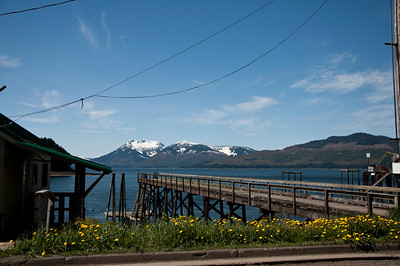 An old dock in Hoonah.