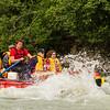 Mendenhall River rafting