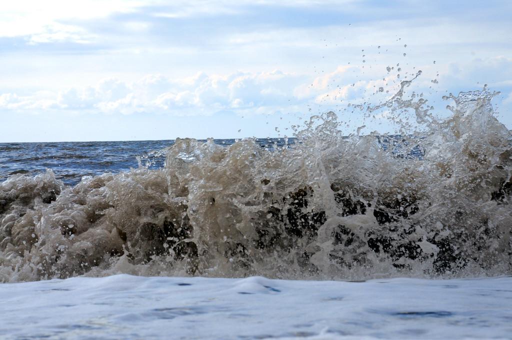 Waves - Beach - Kenai - Kenai Peninsula - Alaska - USA
