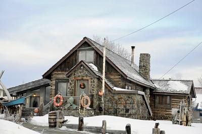 Historical Building -  Kenai - Kenai Peninsula - Alaska - USA
