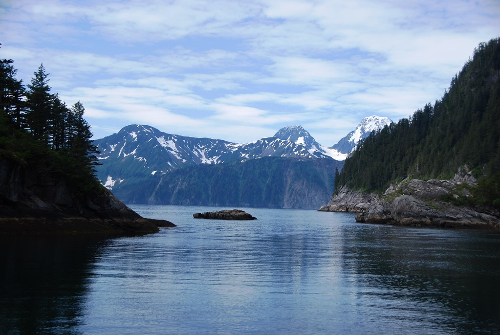 Resurrection Bay - Seward - Kenai Peninsula - Alaska - USA