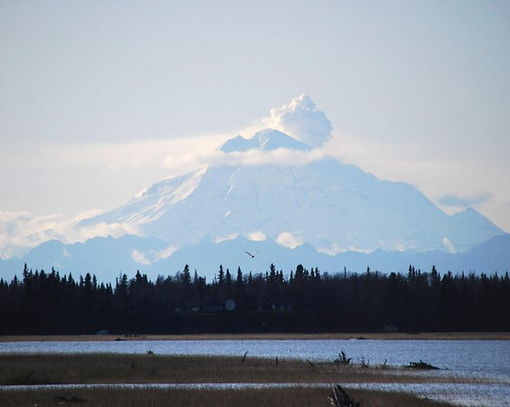 Mount Redoubt - Kenai - Kenai Peninsula - Alaska - USA