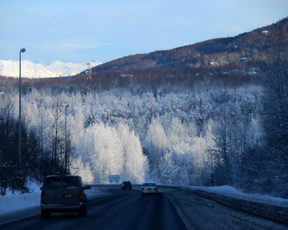 Glenn Highway - Eagle River - Alaska