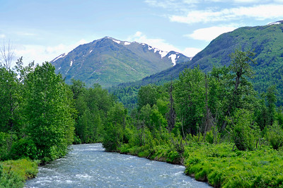 Ship Creek - Moose Run Golf Course - Anchorage - Alaska - USA
