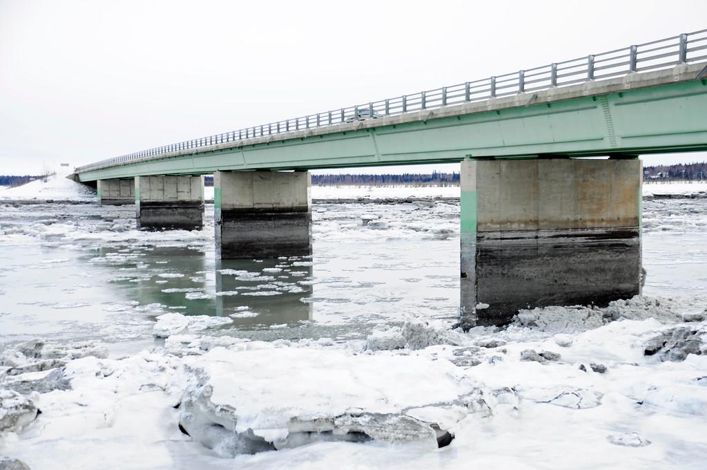 Kenai River Bridge - Bridge Access Road - Kenai - Kenai Peninsula - Alaska - USA