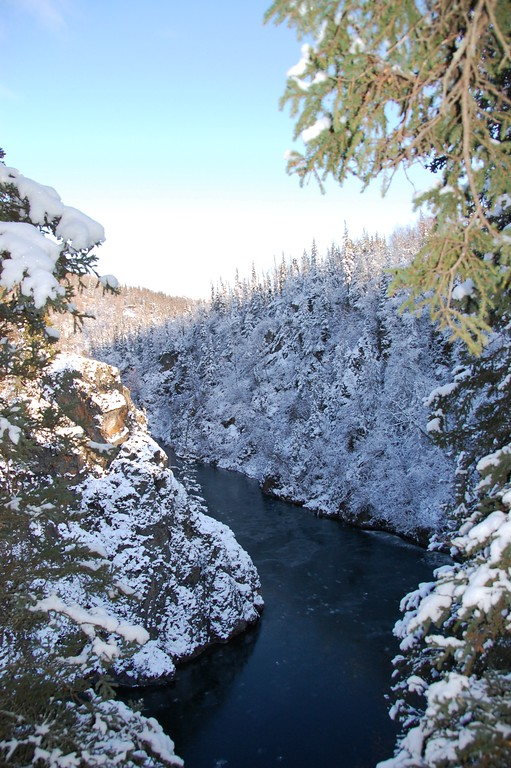Ship Creek - Anchorage - Alaska