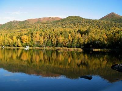 Autumn Photos - Fire Lake - Eagle River - Alaska - USA