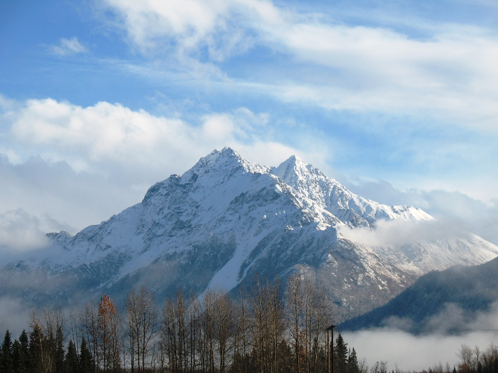 Alaska Travel Photography - Matanuska Valley - Pioneer Peak