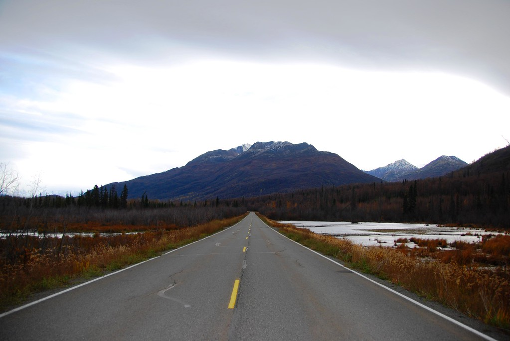 Old Glenn Highway - Matanuska Valley - Butte - Alaska - USA